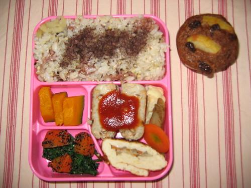 幼稚園のお弁当06.03.09