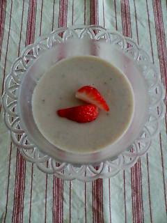 苺のソイプリン